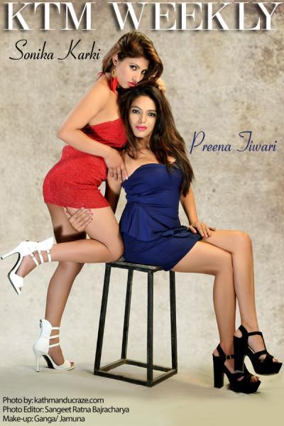 Sonica Karki and Preena Tiwari