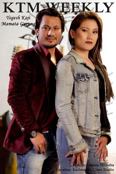 Yogesh Kaji and Mamata Gurung