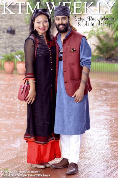 Satya Raj Acharya & Anita Acharya