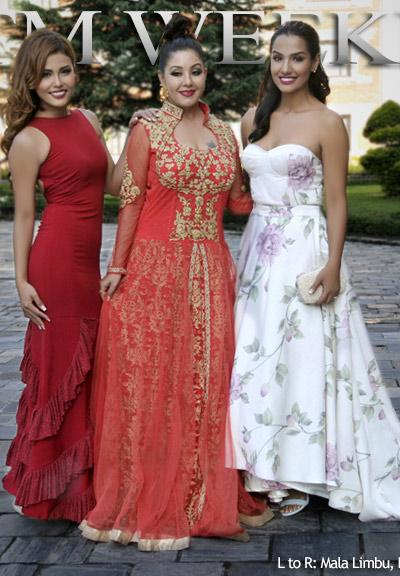 Mala , Karishma and Priyanka