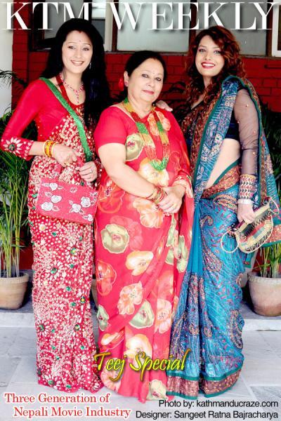 Three generation of Nepali Movie Industry