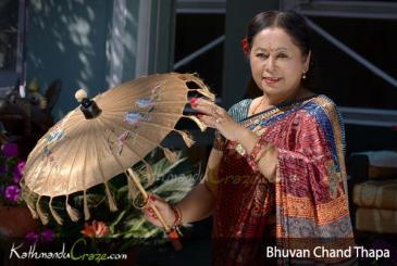 First Nepali Actress: Bhuwan Chand