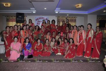 Baglung Mahila Samaj Teej Celebration