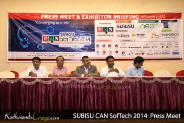 SUBISU CAN SoftTech 2014: Press Meet