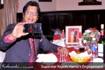 Superstar Rajesh Hamal's Engagement