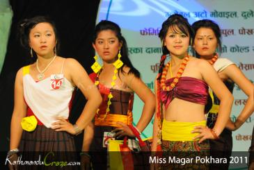 Miss Magar Pokhara 2011