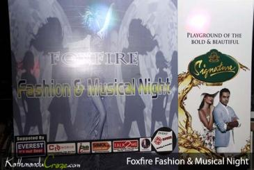 Foxfire Fashion and Musical Night