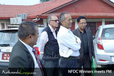 NFDC winners meet PM