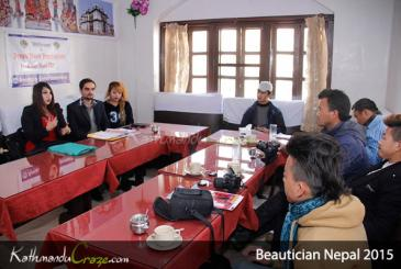 Beautician Nepal 2015: Press Meet