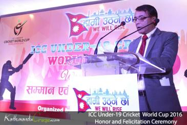 ICC Under-19 World Cup 2016 Honor and Felicitation Ceremony