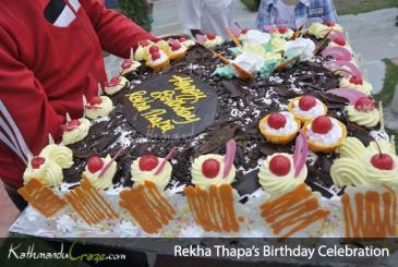 Rekha Thapa: Birthday Celebration