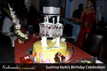 Sushma Karki Birthday Celebration