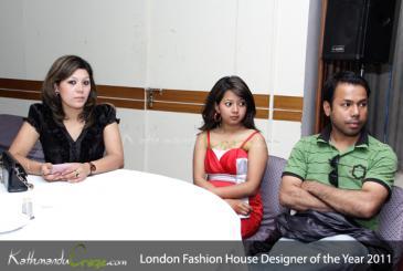 London Fashion House Designer of the year 2011