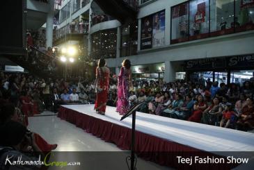Teej Fashion Show