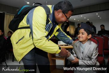 Saugat Bista: World's Youngest Director