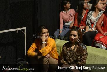 Komal Oli: Teej Song Release