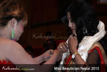 Miss Beautician Nepal 2015