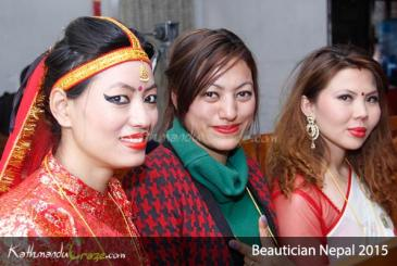Beautician Nepal 2015: Talent Round