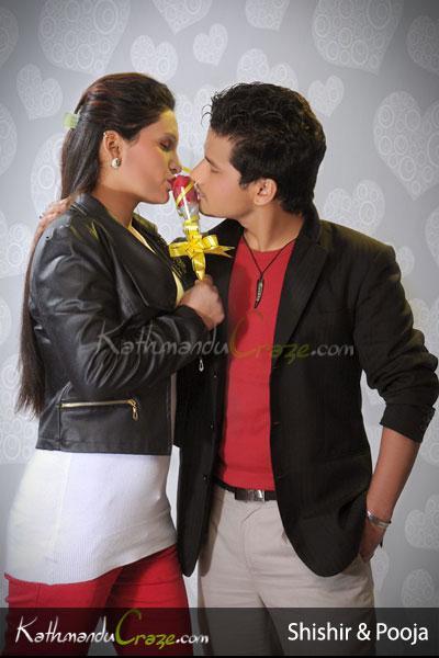 Shishir and  Pooja